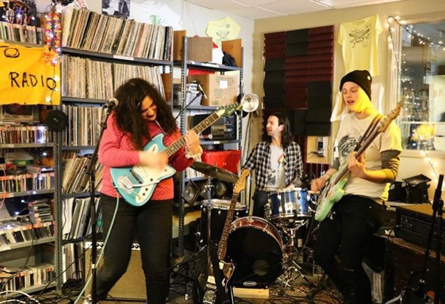 Palehound Performs Live on WRUV Drive-Thru!