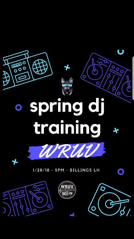 Spring 2018 New DJ Training!
