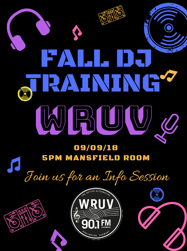 9/9 Fall DJ Training