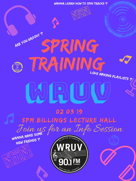 Spring DJ Training