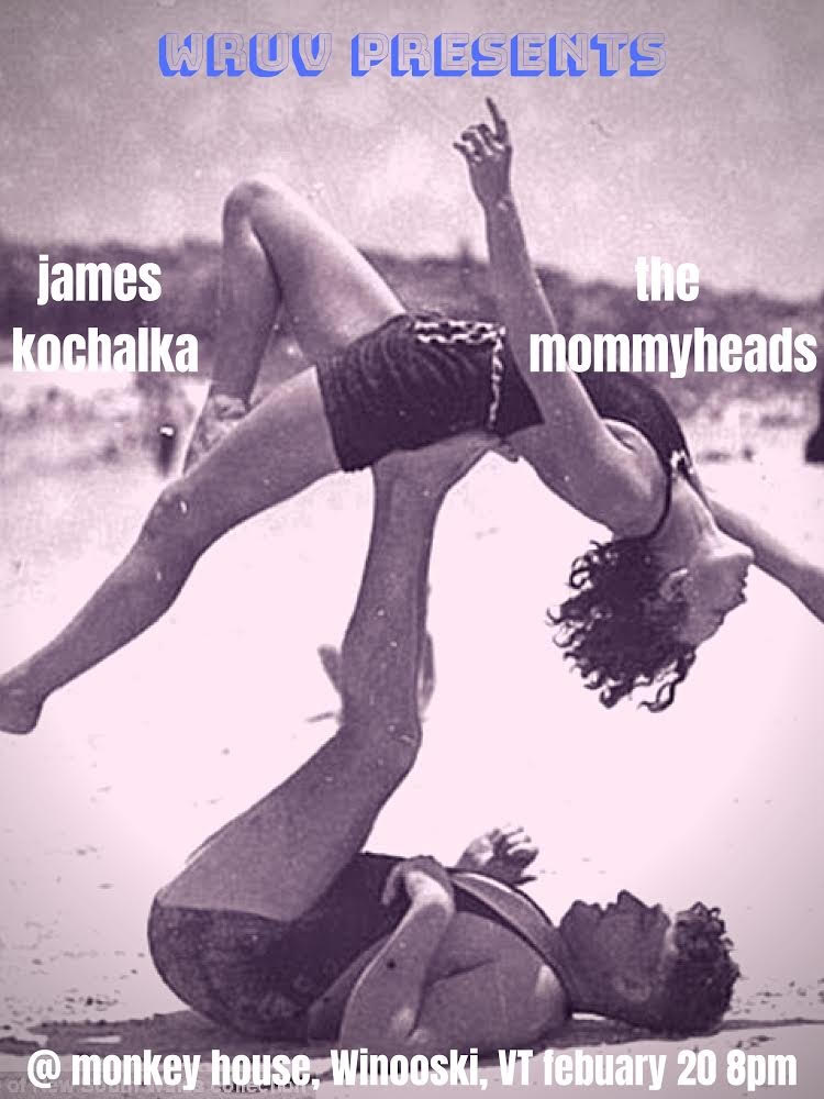 WRUV Presents: The Mommyheads with James Kochalka