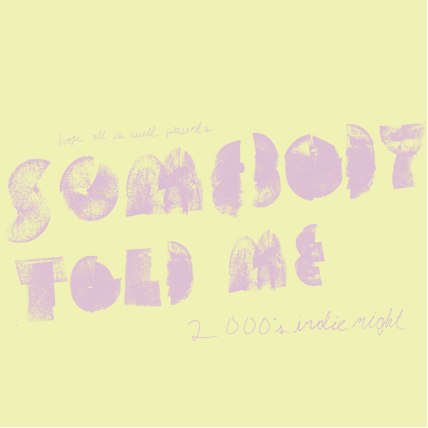 Somebody Told Me: 2000s Indie Night at Club Metronome