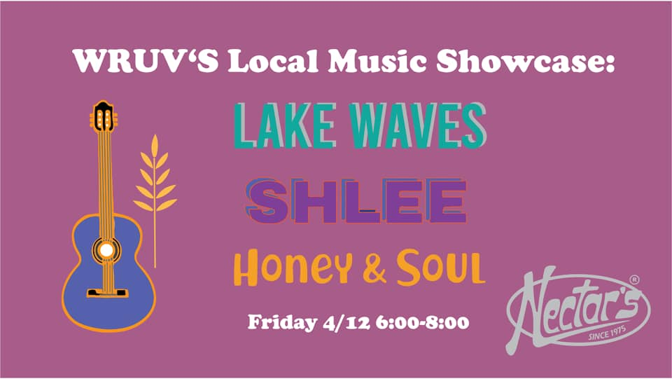 WRUV's Local Music Showcase: Lake Waves, SHLEE, and Honey & Soul