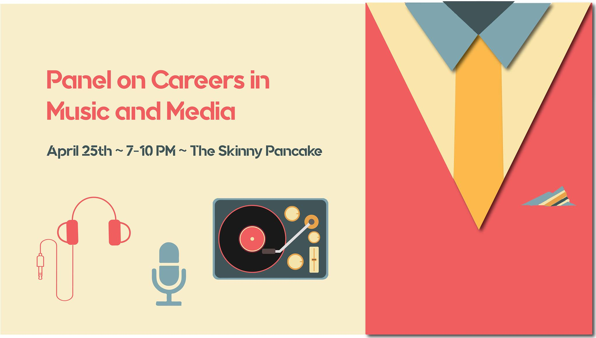 WRUV Presents: Panel on Careers in Music and Media